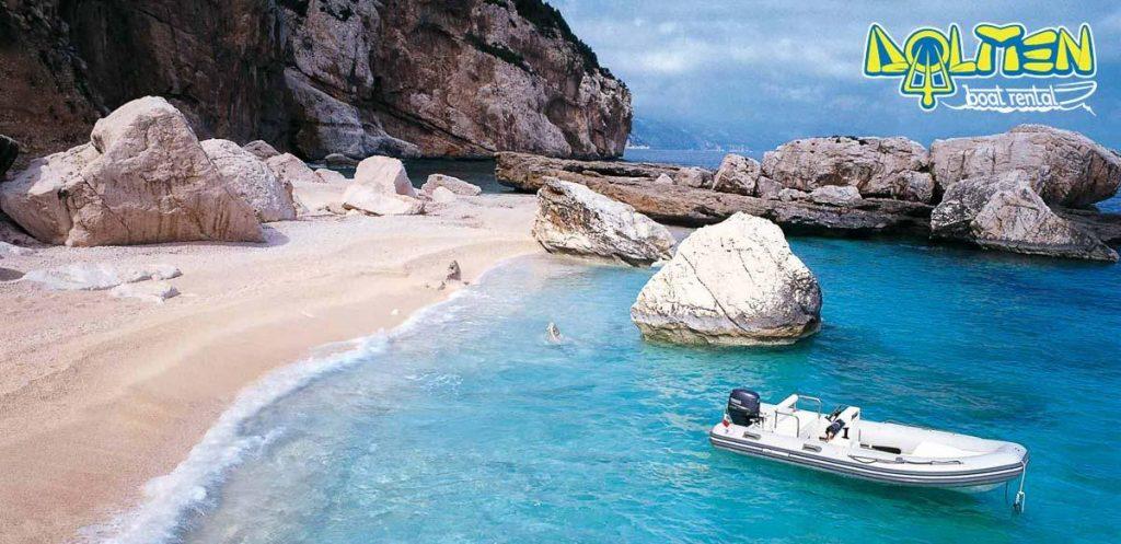 Noleggio gommoni Cala Gonone DOLMEN Boat Rental