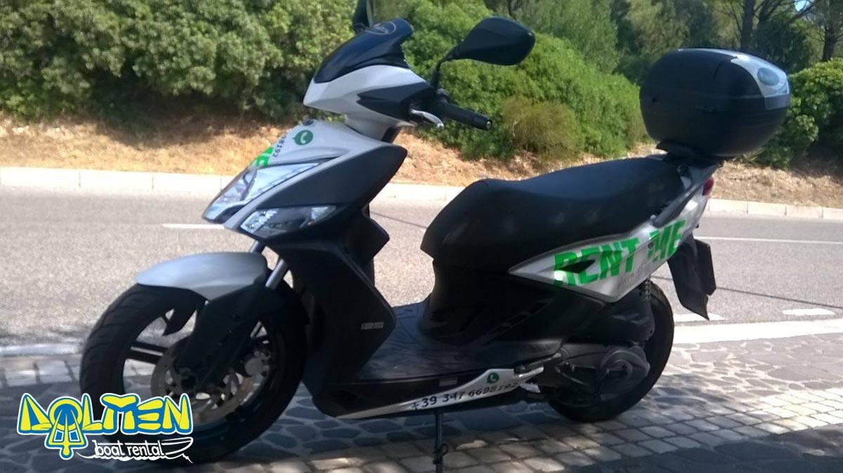 Noleggio scooter Cala Gonone DOLMEN Boat Rental